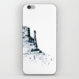 Monument Valley mountainsplash iPhone Skin