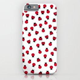 Ladybug Picnic iPhone Case