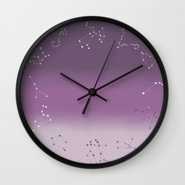 Star Witch Wall Clock
