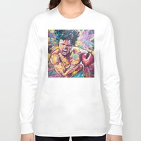 ali Long Sleeve T-shirts featuring Ali by somanypossibilities