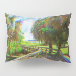 Trippy Walkway Pillow Sham