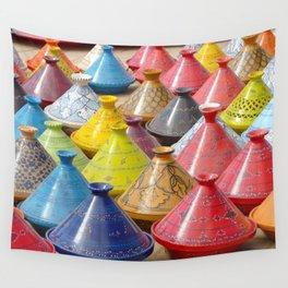 Dish to tajine, Djerba, Tunisia, Wall Tapestry
