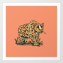 Spotted Again Art Print