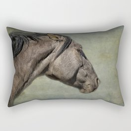 Garcia No. 1- Pryor Mustangs Rectangular Pillow