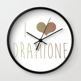 I Love Dramione Wall Clock