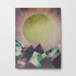Top of the mountain Metal Print