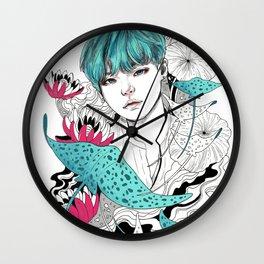 BTS Suga Wall Clock