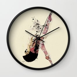 indepenDANCE #3 Wall Clock