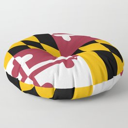 State flag of Flag Maryland Floor Pillow