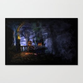 Castlevania: Vampire Variations- Bridge Canvas Print