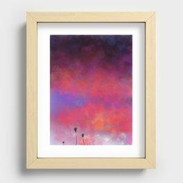 Summer Glow Recessed Framed Print