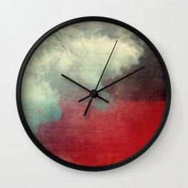 Dreams Series - Collision Wall Clock
