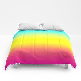 Ombre Magical Rainbow Unicorn Colors Comforters