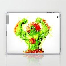 Street Fighter II - Blanka Laptop & iPad Skin