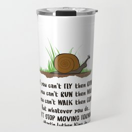 SNAIL MOTION Travel Mug