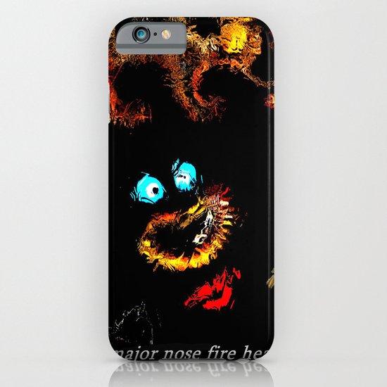 Major nose fire head. iPhone & iPod Case