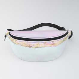 Barely There Pink Abstract Landscape Fanny Pack