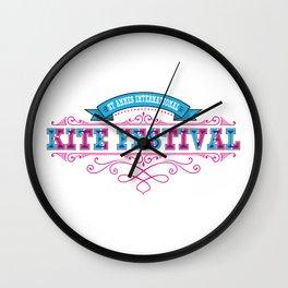International Kite Festival Wall Clock