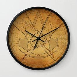 Assassin Logo Wall Clock