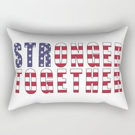 Stronger Together Rectangular Pillow
