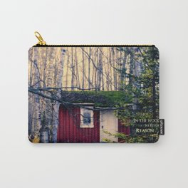Cabin in the Woods (Emerson quote) Carry-All Pouch