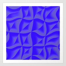 pattern sti Art Print