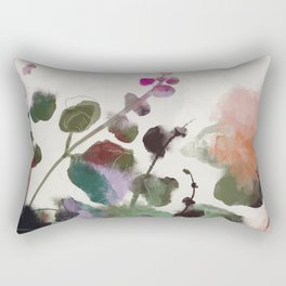 floral abstract summer autumn Rectangular Pillow