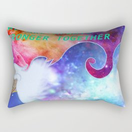 """We Are All Stronger Together"" Allura Piece Rectangular Pillow"