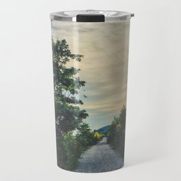 Sunset chill vibes Travel Mug