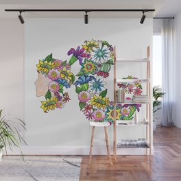 Blooming Ponytail Wall Mural