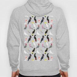 Australian cockatoos pattern Hoody