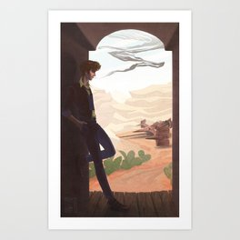 See You Space Cowboy Art Print