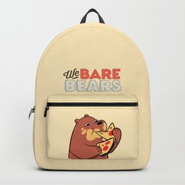 Pardo We Bare bears Backpack