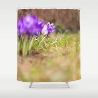 wonderland Shower Curtains featuring wonderland by LainPhotography