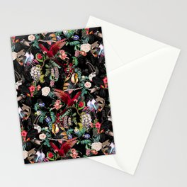 Floral and Birds IX Stationery Cards