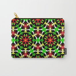 Poinsettia Patterns Carry-All Pouch