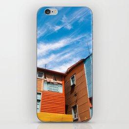 Colors at Caminito iPhone Skin