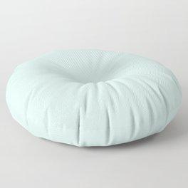 Pale Green Summermint Pastel Green Mint Floor Pillow