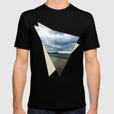 Road to Nowhere MEDIUM Black Mens Fitted Tee