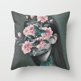 Inner beauty Throw Pillow