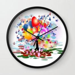 Frühlingstraum Wall Clock