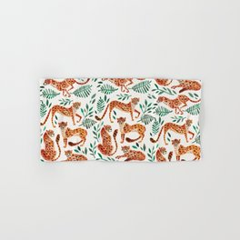 Cheetah Collection – Orange & Green Palette Hand & Bath Towel