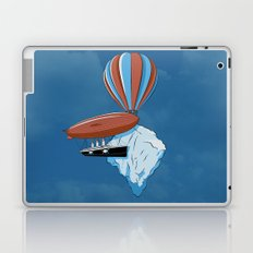 Sailing dangerous skies. Laptop & iPad Skin