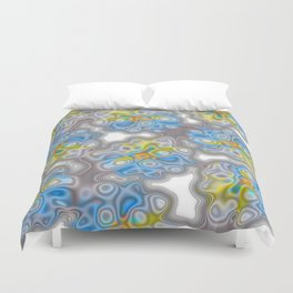 Topography 2 Floral Duvet Cover