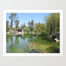 CHINESE GARDEN at The Huntington Art Print