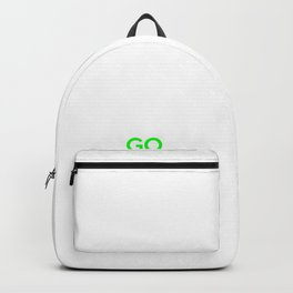 Green Environment Keep Calm Go Green Climate Change Backpack