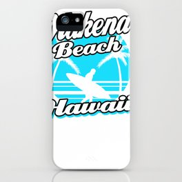 makena beach hawaii holiday trip honeymoon gift pullover tee iPhone Case