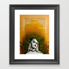 Wings Series Two (Angel)  Framed Art Print
