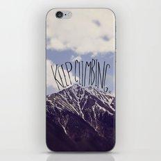 Keep Climbing iPhone & iPod Skin