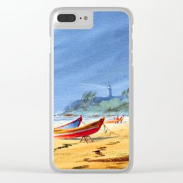 Puerto Rico Maunabo Beach Clear iPhone Case